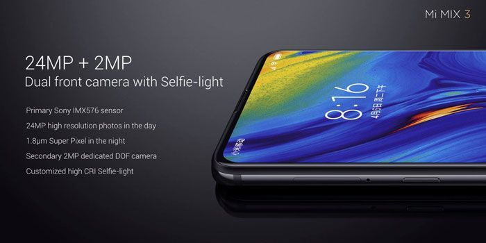Buy Xiaomi Mi Mix 3 Forbidden City 10gb 256 Gb Dual Camera