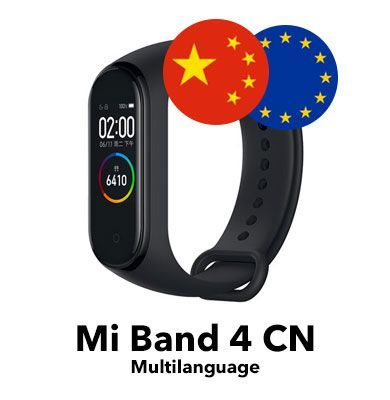 Xiaomi Mi Band 4 CN Version - Multilanguage Version Tutorial