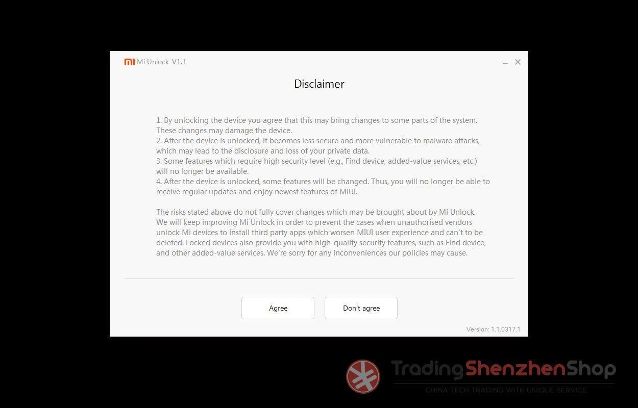 Xiaomi Mi Unlock Bootloader Tutorial 1