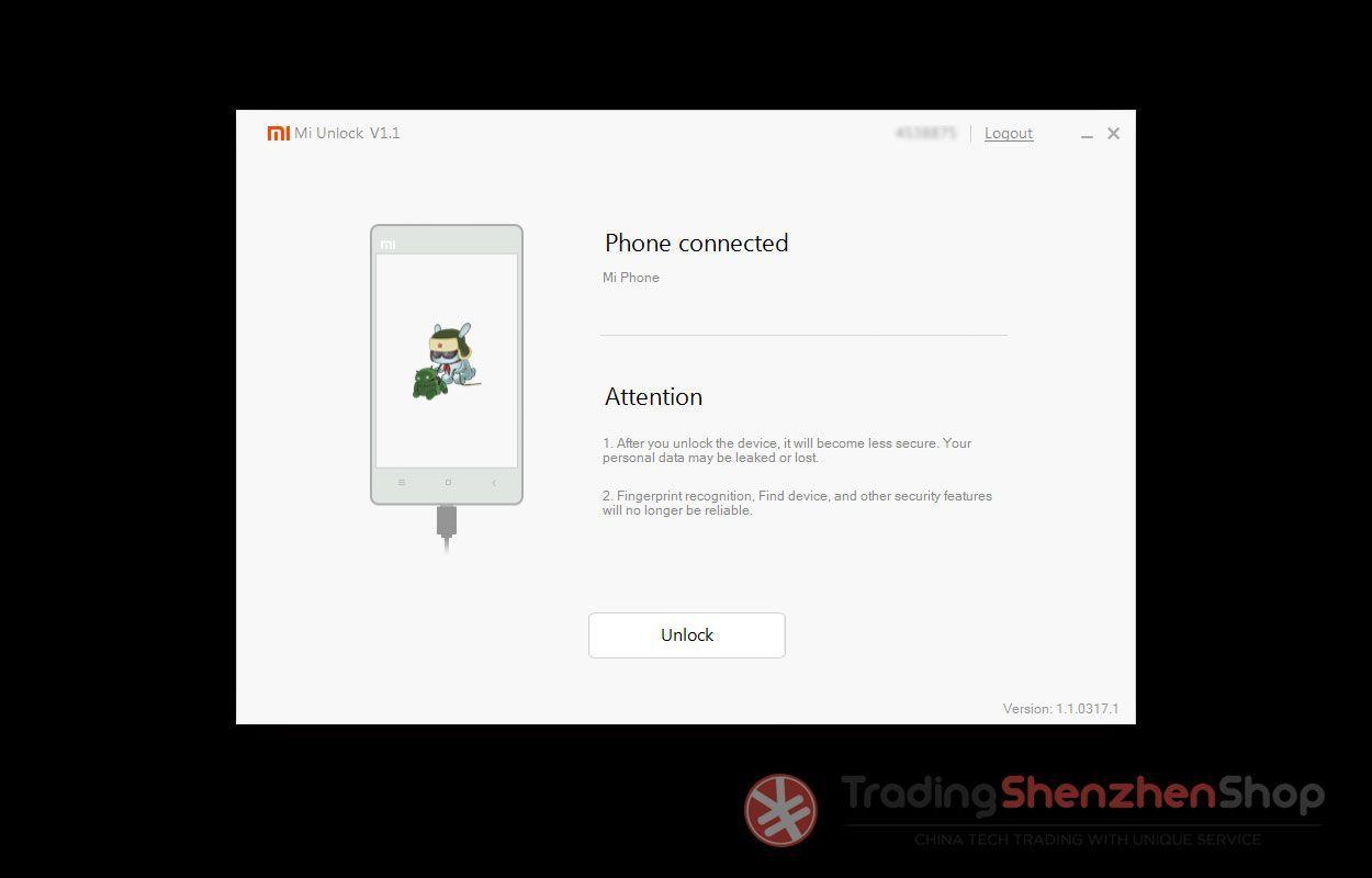 Xiaomi Mi Unlock Bootloader Tutorial 5
