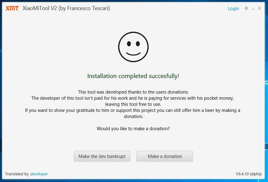 XiaoMi Tool Global Firmware Installation 9